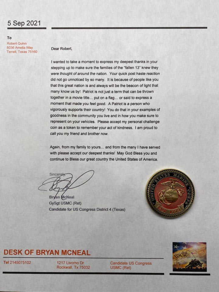 Thank You From Bryan Mcneal
